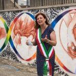 Montevago, inaugurato murales dell'artista Paolo Manno dedicato alle donne