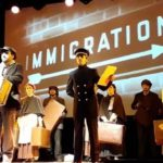 """Applausi e commozione ieri a Malfa per """"Camicette Bianche"""", il musical di Marco Savatteri sull'emigrazione di inizio Novecento"""
