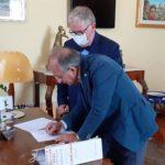 Firmato il contratto per la concessione in comodato d'uso gratuito dell'area di Piazzale Caos di proprietà dell'Ente