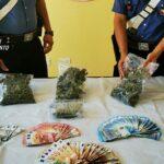 Detenzione di marijuana ai fini di spaccio: arrestato saccense