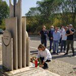 Fratelli d'Italia ricorda il Giudice Livatino, deposti fiori sulla stele per l'anniversario della sua morte
