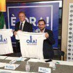 Agrigento 2020, grande entusiasmo alla conferenza stampa di Francesco Lollobrigida a favore di Daniela Catalano