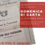 """Ad Agrigento la mostra documentaria """"Il vaccino animale"""" Epidemia di vaiolo nel circondario di Girgenti dopo l'Unità d'Italia"""