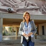 Montevago, pronto il murales di Ligama sul prospetto della biblioteca comunale