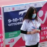 Giusi Parolino medaglia d'oro tricolore e titolo di Campionessa Italiana 2020