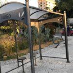 Agrigento, migliora il decoro della città: rimossi pannelli rotti della pensilina di piazza Marconi