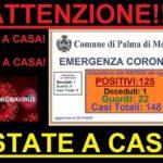 Palma di Montechiaro: confermata la morte per COVID-19 di un uomo