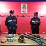 Cammarata, pratiche venatorie e repressione del bracconaggio: sequestrate armi e munizioni