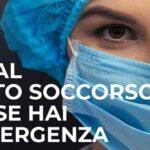 La Regione siciliana diffonde attraverso l'ASP di Agrigento una locandina per evitare il sovraffollamento dei pronto soccorso in caso di sintomi da Covid