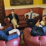 """Agrigento, l'amministrazione incontra il rappresentante dell'Associazione """"Terzo Pilastro"""""""