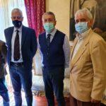 Agrigento, Associazione nazionale bersaglieri e Unuci incontrano il Sindaco Miccichè