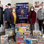 """Agrigento, Natale solidale per il Kiwanis: donati giochi alla Fondazione """"Mondoaltro"""""""
