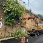 Agrigento, ripulito il muro di via San Vito