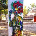 Bivona, il Parco Artistico della Pace si arricchisce di una nuova opera d'arte dell'artista Domenico Cocchiara
