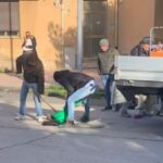 Agrigento, riparate buche stradali in via Manzoni