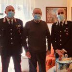Carabinieri di Comitini in festa per il Sottotenente in congedo Agostino Falzone