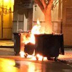 Licata, cassonetti dei rifiuti a fuoco: individuato il presunto responsabile