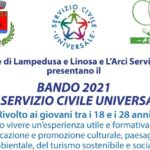 """""""Alla riscoperta di Lampedusa tra Storia, Cultura e Ambiente"""": parte il Servizio Civile"""