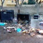 """Vandali a Lampedusa? A fuoco cassonetti, Martello: """"la nostra è una comunità fatta da persone perbene"""""""