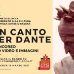 """""""Un canto per Dante"""", concorso per video e immagini della Biblioteca """"Cassar"""" di Sciacca"""