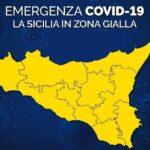"""Emergenza Covid, la Sicilia da oggi è in """"zona gialla"""": ecco cosa è previsto"""