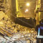 Favara, crollo in via Pirandello: si mette in sicurezza l'immobile