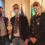 Canicattì, saluti di commiato del Vice Questore della Polizia di Stato Cesare Castelli