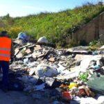 Ambiente e bonifica del territorio: rimossa la dscarica abusiva sulla SPR n. 24