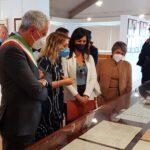 La Sottosegretaria alla Pubblica Istruzione Barbara Floridia e la deputata Rosalba Cimino in visita a Racalmuto