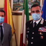 Libero Consorzio Agrigento, visita del Comandante dell'Arma dei Carabinieri Vittorio Stingo