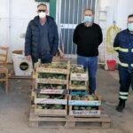 Sciacca, nuova donazione alimentare al Comune dall'azienda Campo Carboj