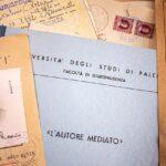 All'Archivio storico dell'Università di Palermo ritrovato il fascicolo personale con la tesi di laurea e il libretto universitario dello studente Rosario Angelo Livatino