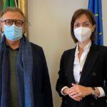 """Lampedusa, il sindaco Martello incontra il ministro Carfagna: """"promuovere azioni coordinate per le Isole Minori e per la Sicilia"""""""