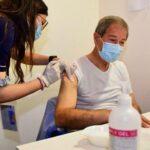 Sicilia, Covid: il presidente Nello Musumeci vaccinato con AstraZeneca