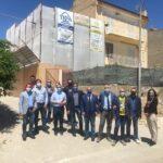 Taglio del nastro di un nuovo cantiere Superbonus 110% in contrada Torre di Gaffe, in territorio di Licata