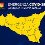 Emergenza Covid, da oggi la Sicilia torna in zona gialla: ecco le novità