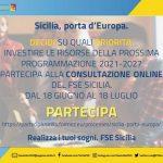 Fondo sociale europeo, un questionario per disegnare la nuova programmazione della Regione