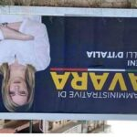 Manifesto elettorale di Giorgia Meloni pubblicato a testa in giù su Facebook, l'indignazione di Fratelli d'Italia Favara
