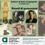 """L'Archivio di Stato di Agrigento al Festival degli Archivi """"Archivissima"""""""