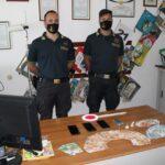 Lampedusa, due arresti per detenzione di sostanze stupefacenti a fini di spaccio