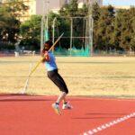 Nuovo record Siciliano nel lancio del giavellotto per l'atleta agrigentina Giusi Parolino