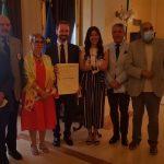 """Agrigento, consegnato un diploma di conferimento dell'onorificenza di Cavaliere """"Al Merito della Repubblica Italiana"""" e una Medaglia d'Onore conferita dal Presidente della Repubblica"""