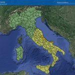 Maltempo, temporali in arrivo al Centro-Sud: allerta gialla in 10 Regioni