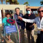 """San Leone, un """"Pesce mangia plastica"""" dal Rotary Club di Agrigento"""