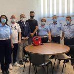 I.so.r.s. dona al Comune di Agrigento un defibrillatore e forma 6 Vigili Urbani