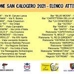 """""""Operazione San Calogero 2021"""", le attività che hanno sposato il progetto"""