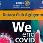 """Agrigento, """"We end Covid"""": il Rotary disponibile a supportare la campagna vaccinale anti-Covid"""