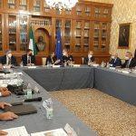 """Comitato sicurezza, Musumeci: """"Chiesti più uomini, mezzi e risorse allo Stato, Regione farà la sua parte"""""""