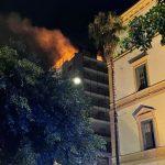Agrigento, incendio in appartamento in pieno centro: ingenti i danni