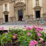 Sciacca, 150 piantine con fiori colorati nei vasi del centro storico
